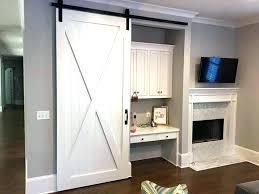 installing barn doors s door kit over trim how to install a existing hardware barn wood door trim