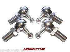 ball joint. american star 4130 chromoly pro x racing ball joint set (4) yamaha warrior 350