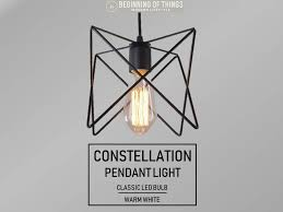 constellation pendant light
