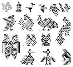 pic 2 bird motifs figs m and n represent birds from the ixil culture