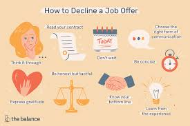 how to decline a job offer how to decline a job offer you already accepted