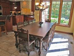 Bobs Furniture Kitchen Sets Client Spotlight Renaissance Chairs And Buffet In Chateau Home