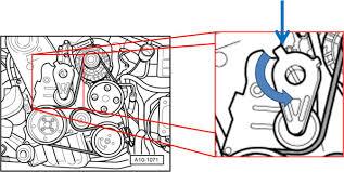 serpentine belt tensioner pulley. serpentine belt tensioner pulley b