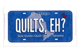 Row by Row - Fabric Plate - Quilts, Eh? - Sew Sisters Online Store ... & Row by Row - Fabric Plate - Quilts, Eh? Adamdwight.com