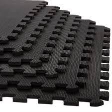 stalwart foam mat floor tiles interlocking eva foam padding 6 pack 3 8 inch thick com