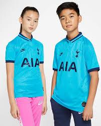Each tottenham hotspur jersey is made by nike® and engineered to meet professional standards. Tottenham Hotspur 2019 20 Stadium Third Big Kids Soccer Jersey Nike Com