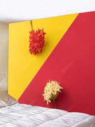 wall decor red w59 inch l51 inch