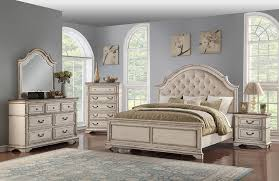 Anastasia Antique White Queen Bedroom Set