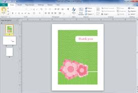 how to create a birthday card on microsoft word how to design greeting cards in microsoft publisher