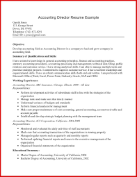 Accounting Resume Objective 15 Staff Accountant Fresh Vision