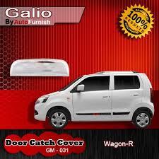 maruti suzuki wagon r k 10 door catch cover chrome set