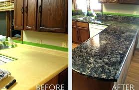 stain laminate kitchen countertop paint tips for painting plastic homeowner refinishing s to look like granite
