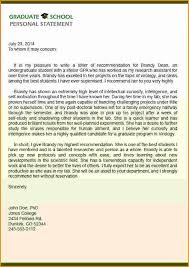 Sample Professional Recommendation Letter For Graduate School - Www ...