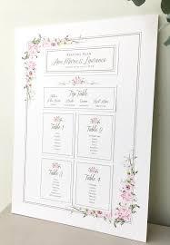 Pink Rose Wedding Invitation Suite Seating Plan Romantic