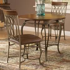 hilale furniture 36 in montello round dining table 4142667s chairs not included