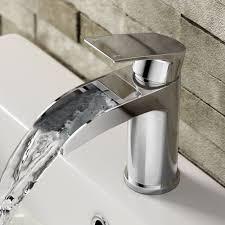 Modern Bathroom Taps Avis Ii Waterfall Basin Mixer Tap Basin Mixer Taps Basin Taps