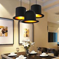 creative lamp holder jeeves wooster top hat pendant light aluminum fedora hat light dining room bedroom britain droplight plug in pendant light indoor