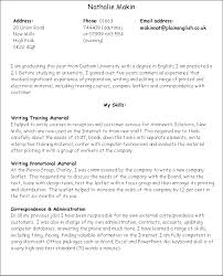 However, if Nathalie had wanted to use a skills based approach to writing  her CV (with a job in publishing in mind) it could have looked like this: