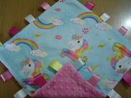 unicorn double plush taggy 36cm