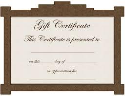 gift certificate template certificate templates blank microsoft word gift certificate template