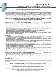 Finance Resume Awesome Finance Resume Examples Resume Professional Writers