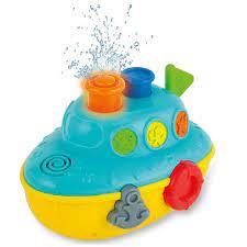 Đồ chơi tắm cho bé - phun nước vui vẻ có đèn nhạc Winfun cho bé từ 6 tháng  tới 5 tuổi