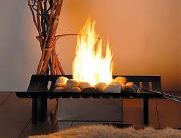 a completely non traditional fireplace for gel fuel