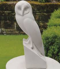 large owl statue