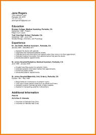 7 Cna Resume Sample No Experience Graphic Resume