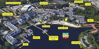 satellite view disney s beach club villas satellite view
