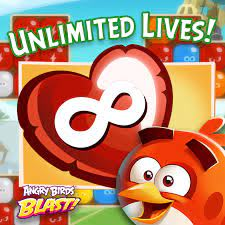 ❤️ ❤️ ❤️ 24h UNLIMITED LIVES ❤️ ❤️ ❤️... - Angry Birds Blast