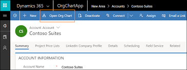 Microsoft Org Chart Maintain An External Org Chart Dynamics 365 Sales