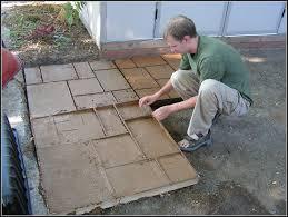 Concrete Patio Molds Diy Patios Home Decorating Ideas Klxbj57xw9