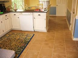 Choosing Kitchen Flooring Kitchen Fine Interior Using White Cabinet Beautiful Carpet With