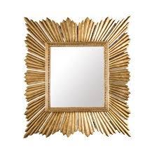 raymond gold sunburst mirror by worlds