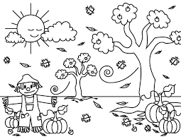 Collection by vickie stone chafin. Printable Fall Coloring Page