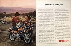 vintage honda motorcycle ads. 1972 vintage honda sl70 motorcycle ad sons u0026 motorcycles ads s