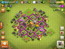 Clash Of Clans Th6 Base Design Th6 Clan War Base Clash Of Clans Wiki