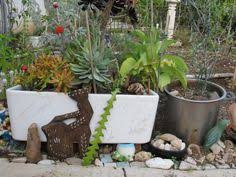trough sink planter concrete sink planters and garden sink