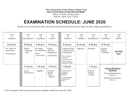 Regents Examination Week