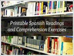 Click on the image to view or download the pdf version. Spanish Reading Comprehension Large Collection Of Printable Readings With Exercises Spanish Playground