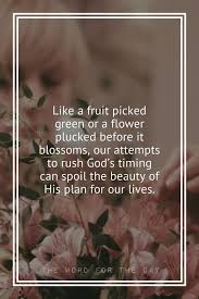 Christian Quote Of The Day Cool The Word For The Day Quotes Flowers Quotes Life Quotes Christian