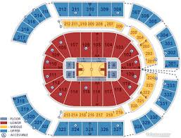 Bridgestone Arena Nashville Tn Seating Chart View