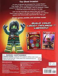 Buy The Lego Ninjago Activity Book with Minifigure Book Online at Low  Prices in India | The Lego Ninjago Activity Book with Minifigure Reviews &  Ratings - Amazon.in