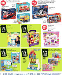 Toys R Us Weekly Flyer Weekly 1 2 Price Event Starts Black