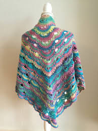 Virus Shawl Crochet Pattern Classy Virus Shawl The Purple Yarn Basket