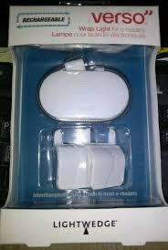 Verso Light For Kindle Lightwedge Verso Rechargeable Wrap Light For E Readers White