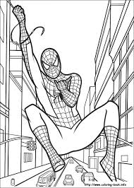 Small Picture Coloring Page Php The Awesome Web Spiderman Color Book at Coloring