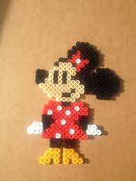 Perler Beads Mickey Mouse Designs Minnie Mouse Perler Beads Perler Beads Hama Beads Design