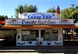 Famous Snow Cap Drive In Seligman Arizona